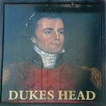 Dukes Head Pub Sign